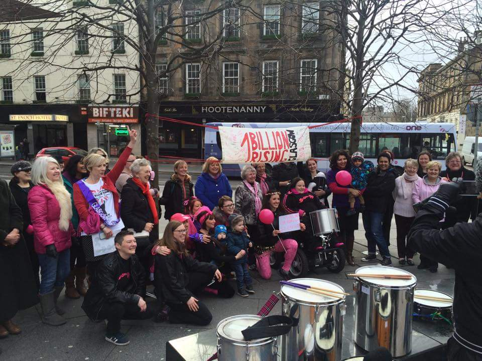 Foundraising Communtiy Event 1 Billion Rising Glasgow