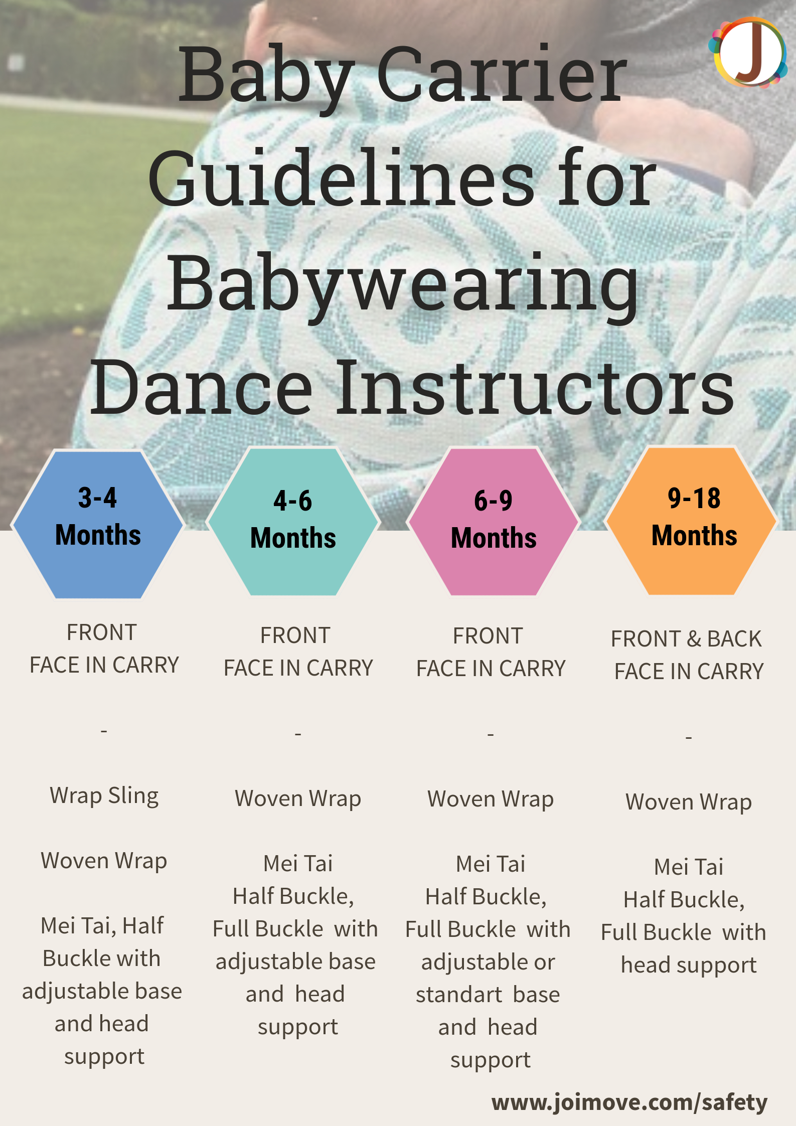 8405c2fefb7 Safety Library - Babywearing Dance Safety Resources   Joimove