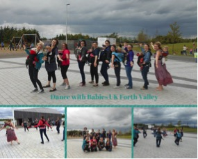 On 31st July 2015 Dance with Babies Stirling-Falkirk instructor Roxanne Hadley brought moms and babies together and held amazing Dancing Families event at The Helix.