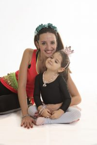 Selen Yilmaz with her daughter Lydia