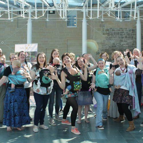 Joimove Scotland / Babywearing Dance Day
